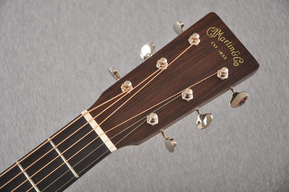 Martin Custom D 18 Style Adirondack Mahogany Dread #2372944 - Headstock