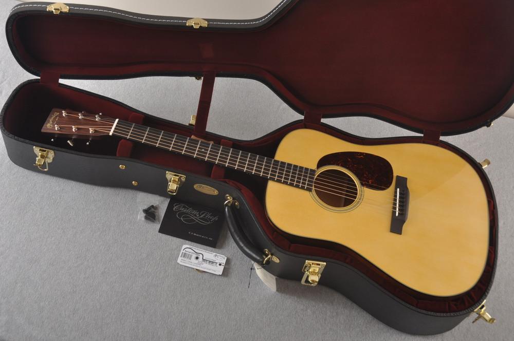 Martin Custom D 18 Style Adirondack Mahogany Dread #2372944 - Case