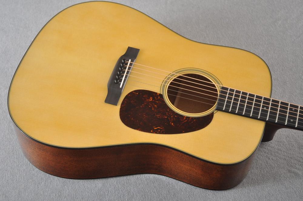 Martin Custom D 18 Style Adirondack Mahogany Dread #2372944 - Top Angle