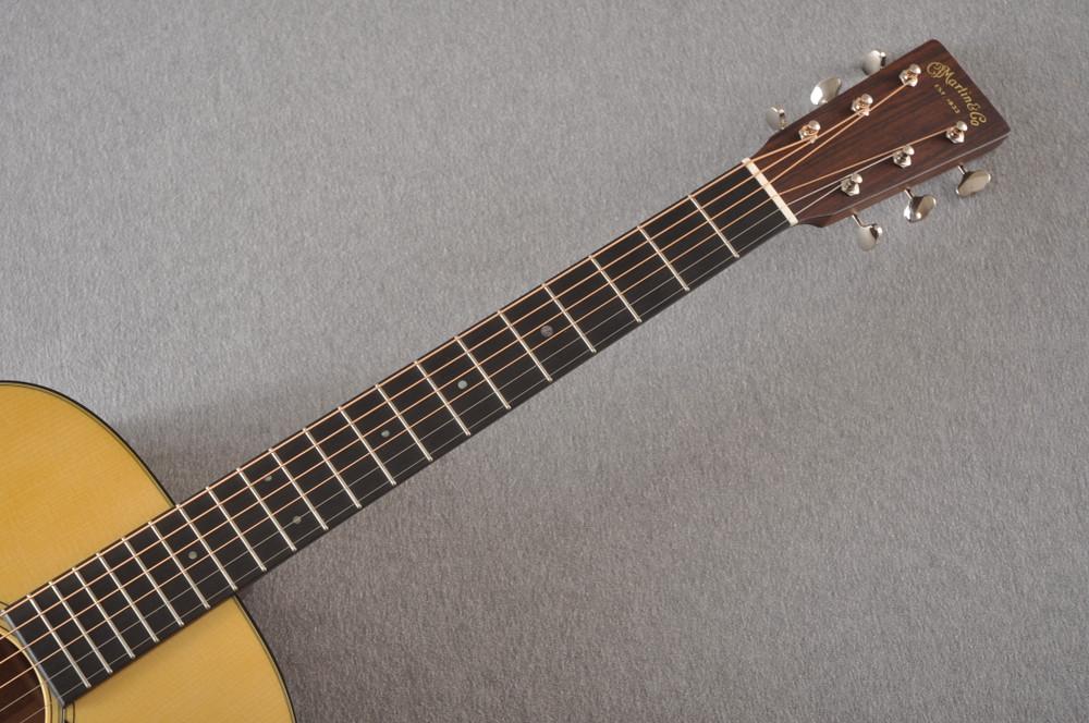 Martin Custom D 18 Style Adirondack Mahogany Dread #2372944 - Neck