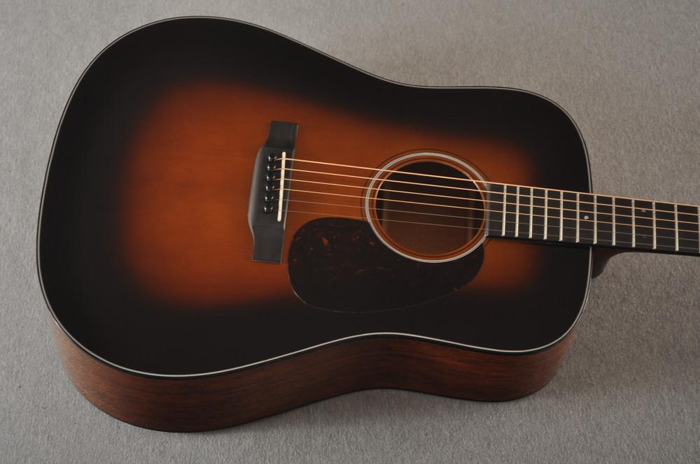 Martin Custom Dread Style 18 Adirondack Sunburst Guitar #2360909 - Top Angle