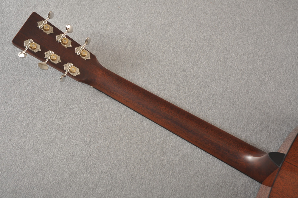 Martin Custom Dread Style 18 Adirondack Sunburst Guitar #2360909 - Back Neck