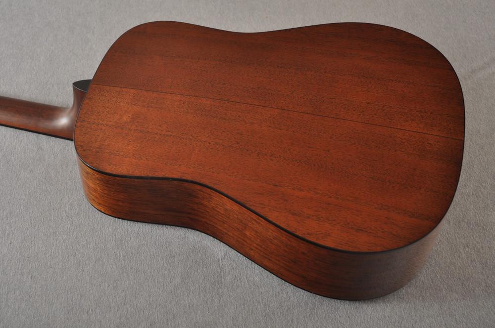 Martin Custom Dread Style 18 Adirondack Sunburst Guitar #2360909 - Back