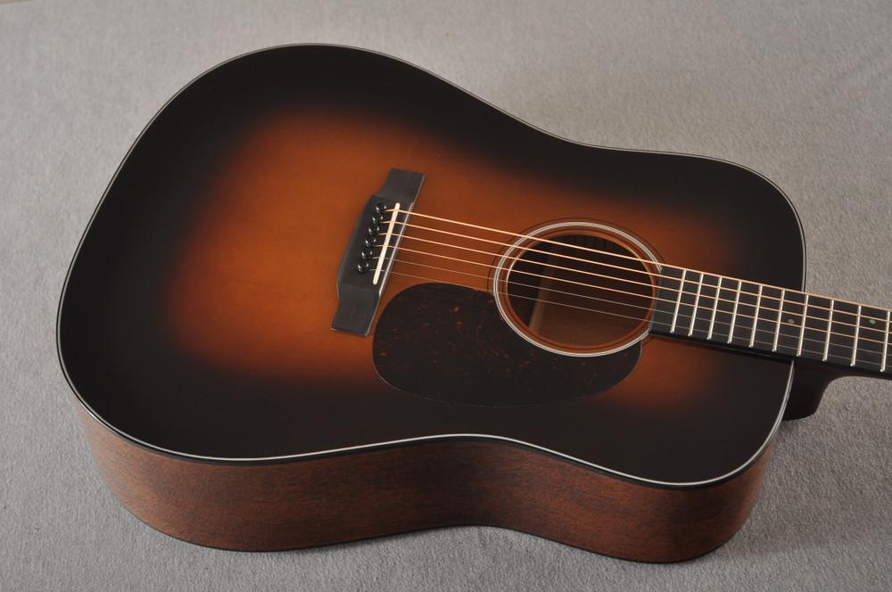 Martin Custom Dreadnaught 18 Style GE Adirondack Waverly #2371542 - Top Angle