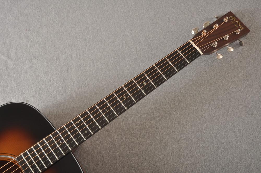 Martin Custom Dread Style 18 Adirondack Sunburst Guitar #2371539 - Neck