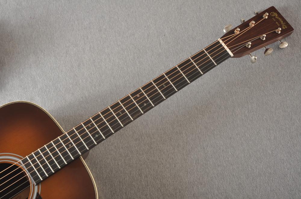 Martin Custom HD Style 28 Marquis Ambertone GE Adirondack #2372954 - Neck