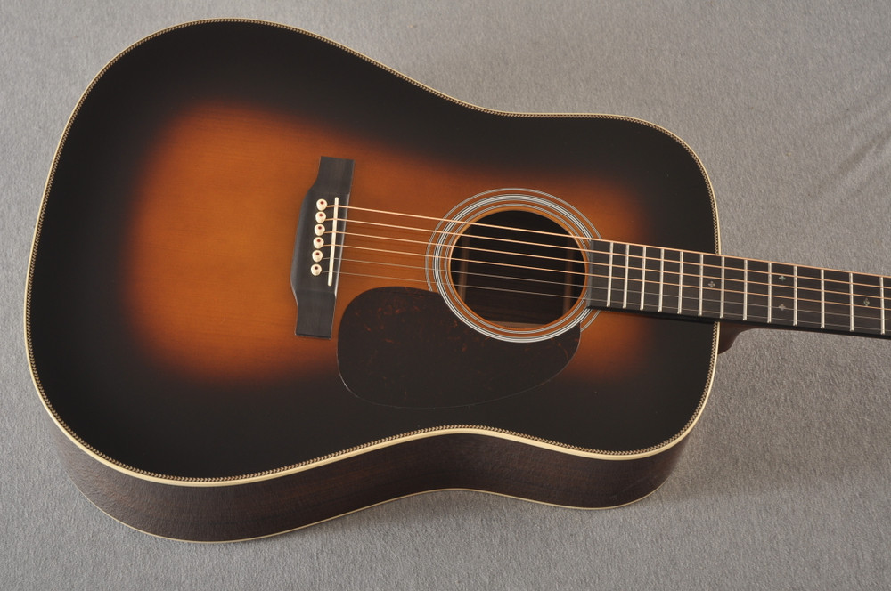 Martin Custom HD Style 28 Marquis Sunburst GE Adirondack #2372955 - Top