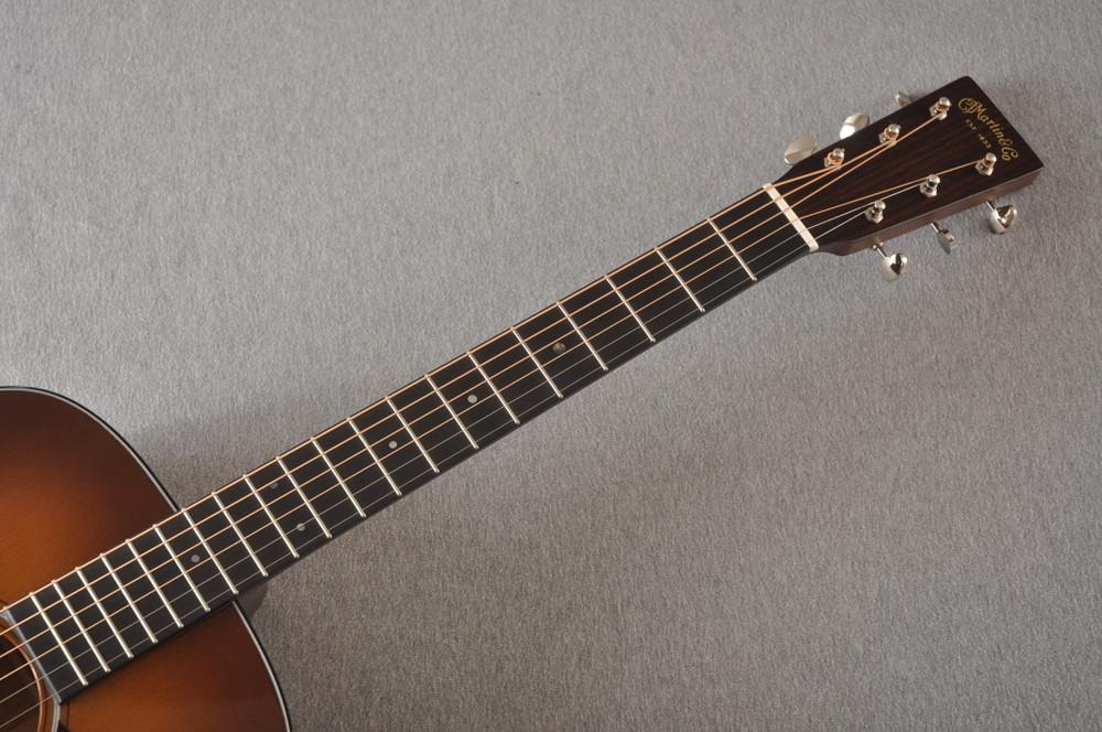 Martin Custom Dread Style 18 GE Adirondack Ambertone #2372948 - Neck