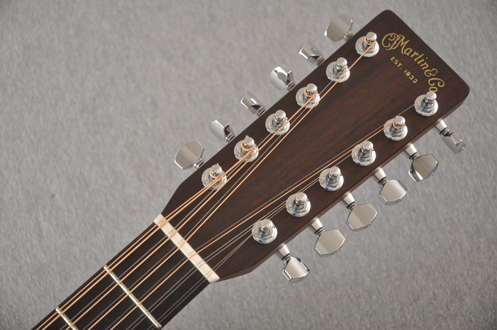 Martin Custom D12 12 String Style 28 Adirondack Ambertone #2371549 - Headstock