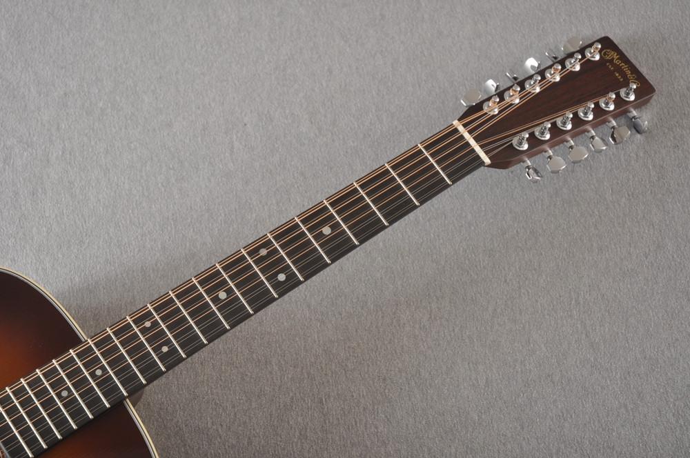 Martin Custom D12 12 String Style 28 Adirondack Ambertone #2371549 - Neck