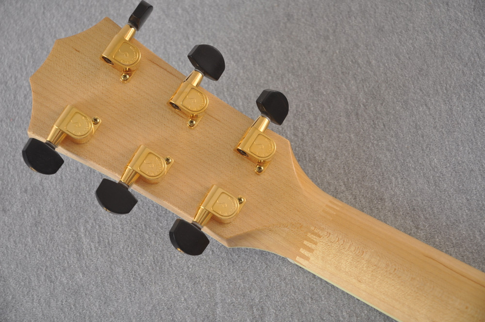 2009 Taylor Doyle Dykes DDSM 93 of 200 - Back Headstock