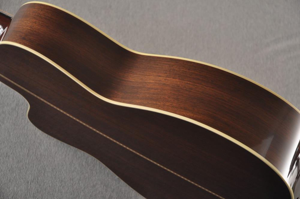 2007 Collings 0002H Cut SB 12 fret Sanns EVO LR Baggs Upgrades #13556 - Side