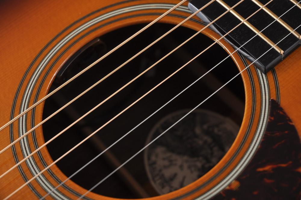 2007 Collings 0002H Cut SB 12 fret Sanns EVO LR Baggs Upgrades #13556 - Pickup
