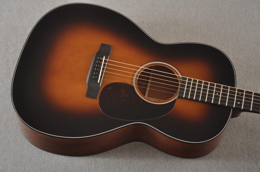 Martin Custom 000 Style 18 GE 12 Fret Adirondack Sunburst #2346032 - Top