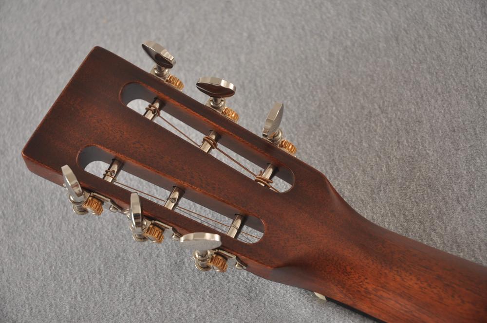 Martin Custom 000 Style 18 GE 12 Fret Adirondack Sunburst #2346032 - Back Headstock