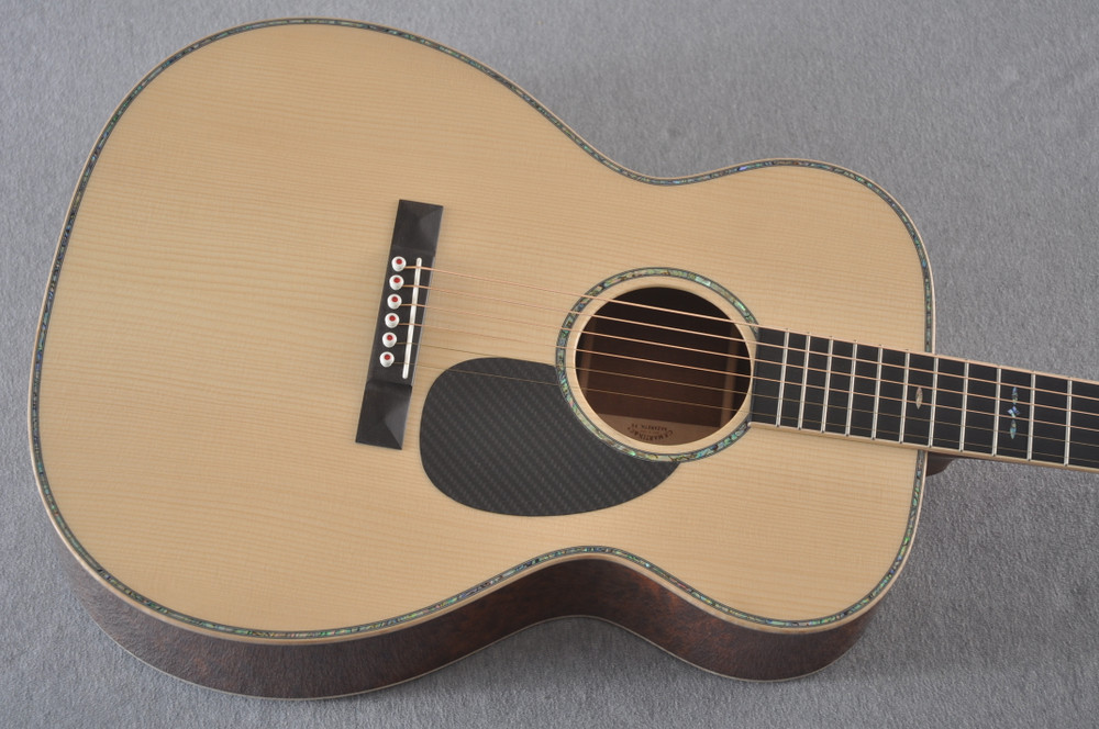 2019 Martin OMSS NAMM Show Special OM-18 Guitar #3 of 22 Signed CFM IV - Top