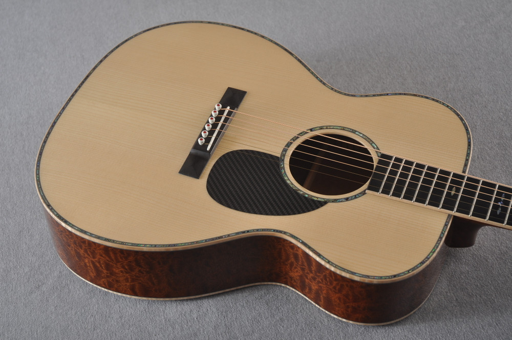 2019 Martin OMSS NAMM Show Special OM-18 Guitar #3 of 22 Signed CFM IV - Top Angle