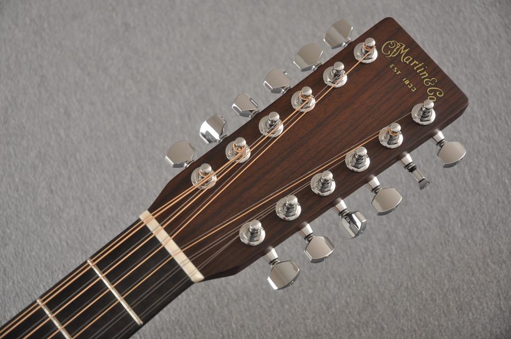 Martin Custom D12 12 String Style 28 Adirondack #2388894 - Headstock
