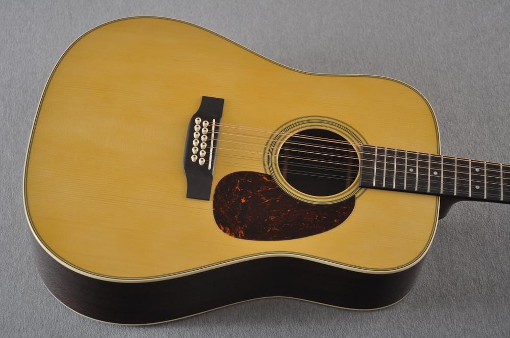 Martin Custom D12 12 String Style 28 Adirondack #2388894 - Top