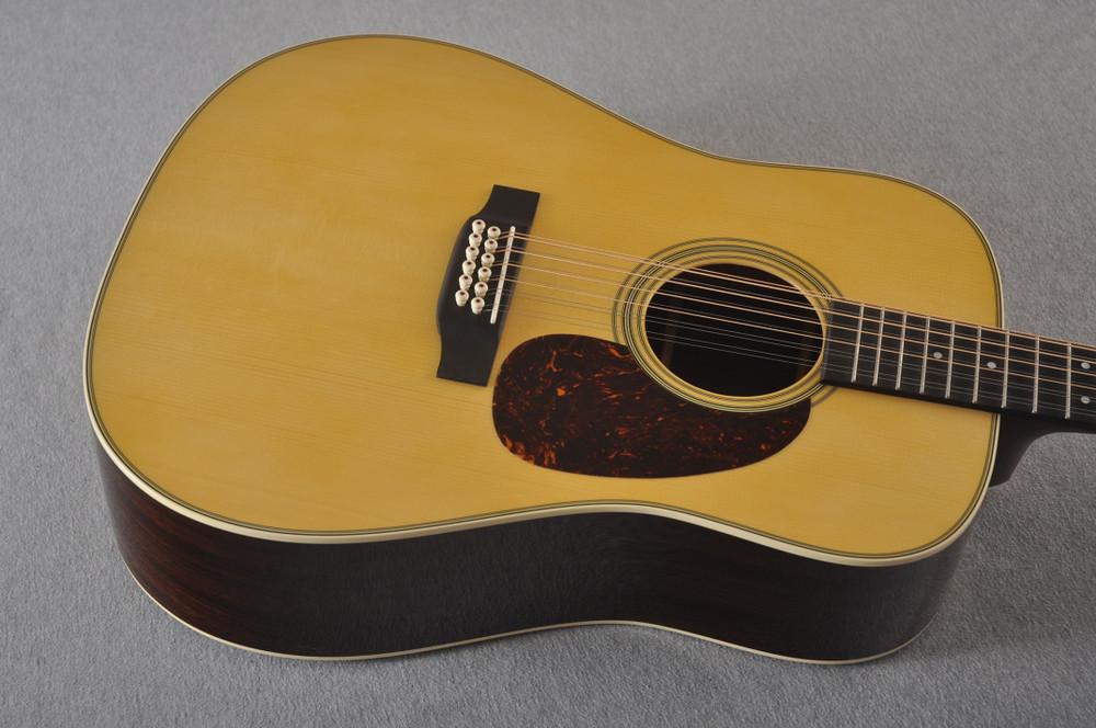 Martin Custom D12 12 String Style 28 Adirondack #2388894 - Top Angle