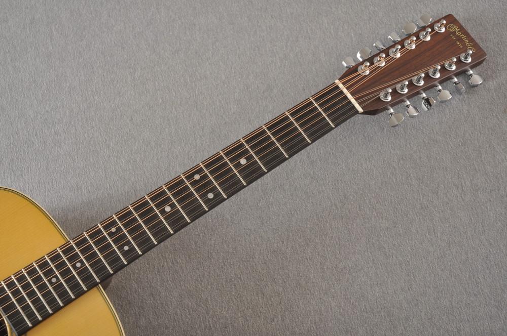 Martin Custom D12 12 String Style 28 Adirondack #2388894 - Neck