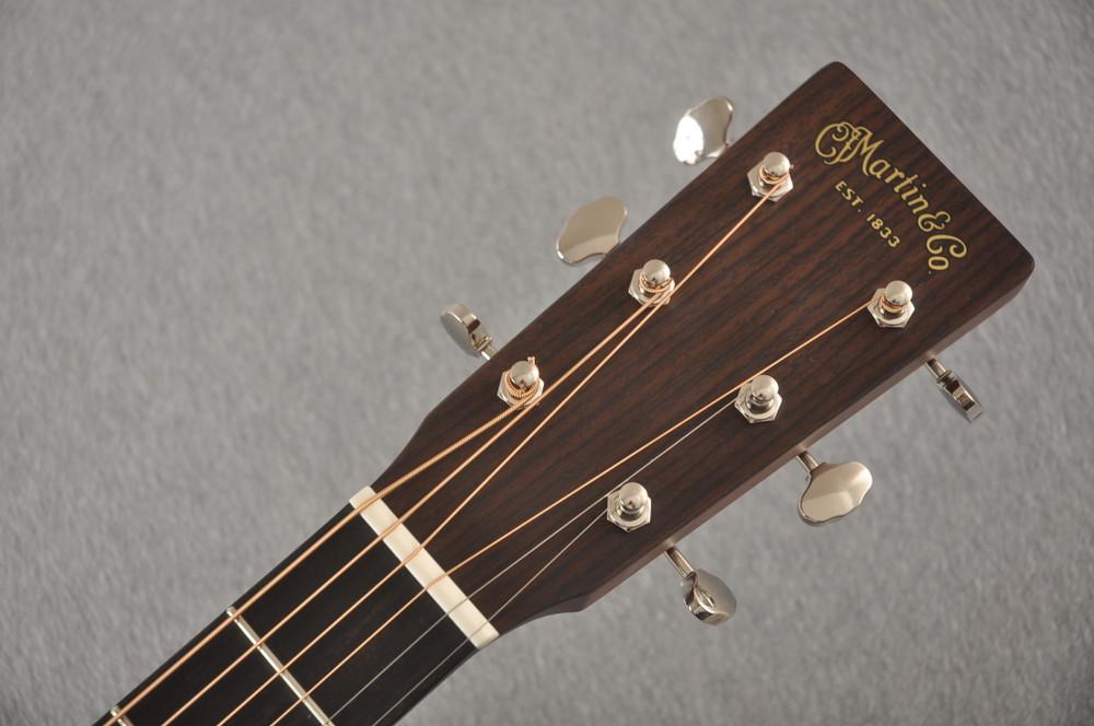 Martin Custom OM Style 18 Adirondack Sinker Mahogany #2398533 - Headstock