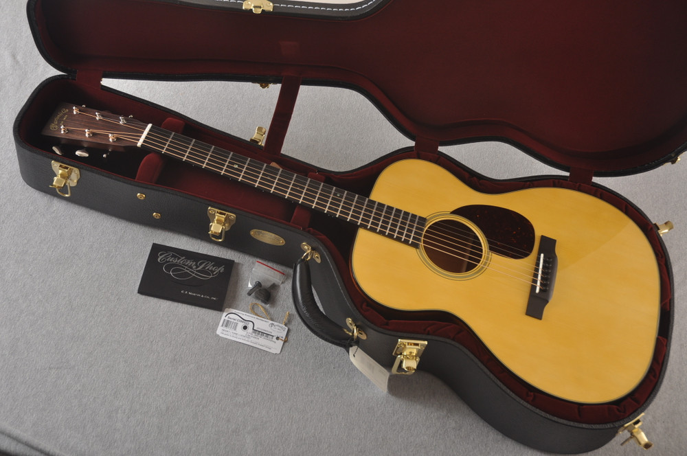 Martin Custom OM Style 18 Adirondack Sinker Mahogany #2398533 - Case