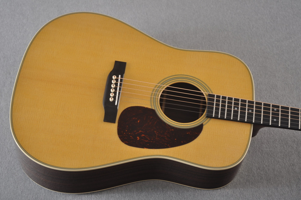 D-28 Standard Dreadnought Acoustic Guitar #2411821 - Top Angle