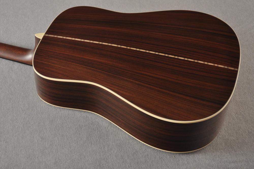 D-28 Standard Dreadnought Acoustic Guitar #2411821 - Back Angle
