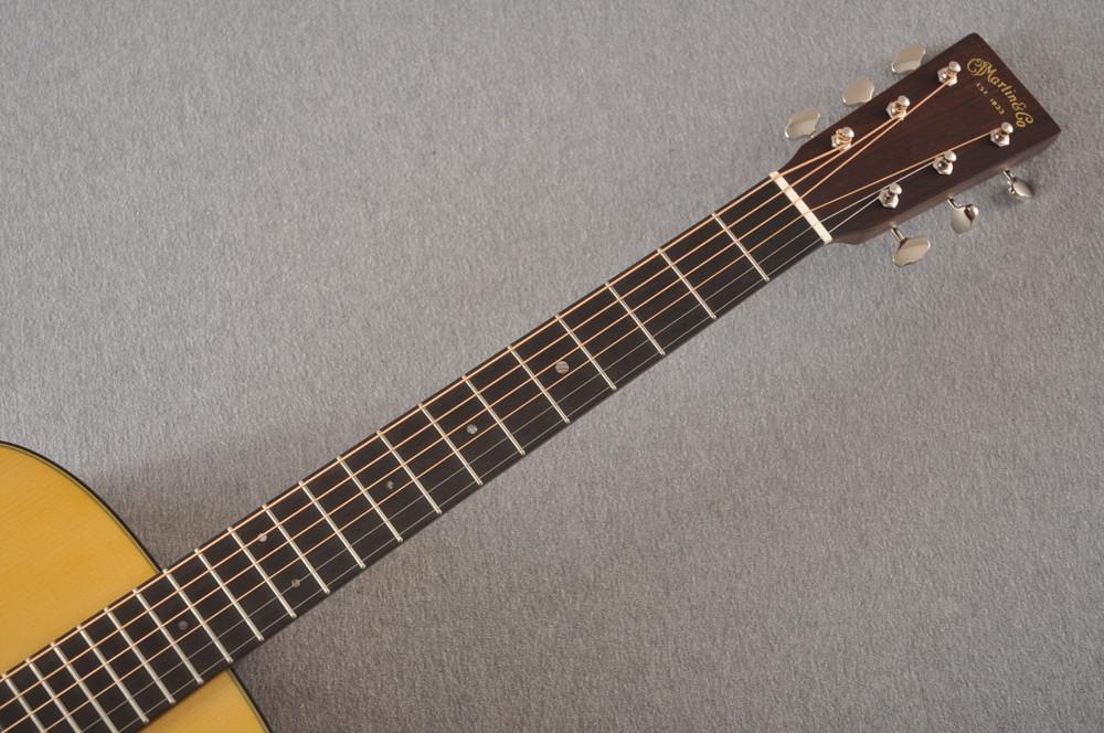 Martin Custom D Style 18 Adirondack Mahogany Dread #2386327 - Neck