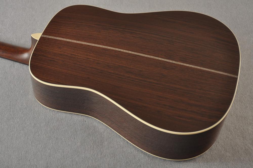 Martin HD-28 Sunburst Standard Dreadnought Acoustic #2421762 - Back Angle