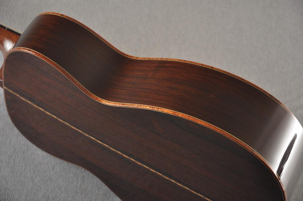 2012 Bourgeois OM DB Signature Italian Spruce Madagascar Rosewood #5852 - Side