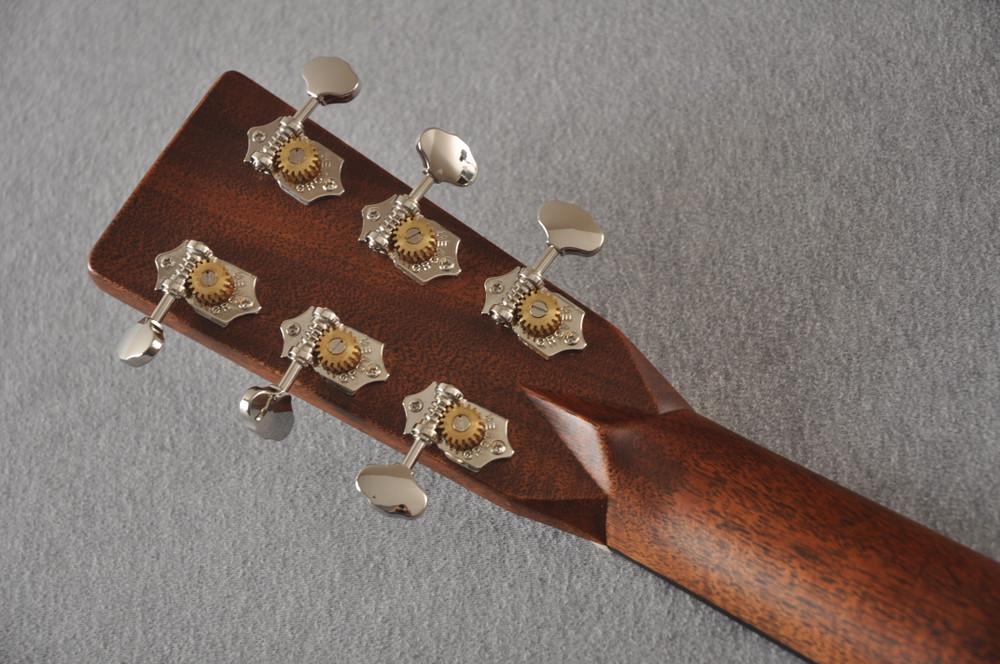 Martin HD-28 Dreadnought Acoustic Guitar #2412065 - Back Headstock