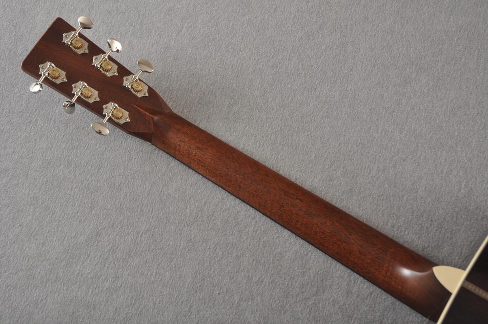 Martin HD-28 Dreadnought Acoustic Guitar #2412065 - Back Neck