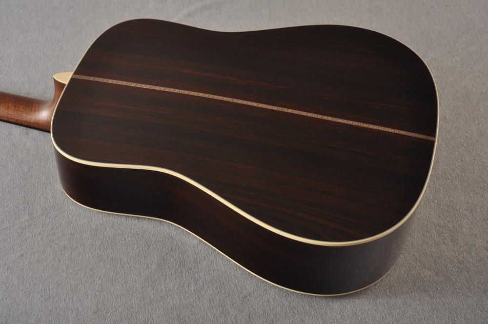 Martin HD-28 Dreadnought Acoustic Guitar #2412065 - Back Angle