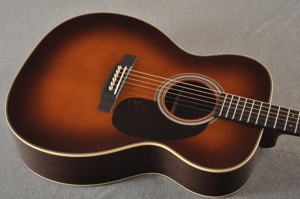 Martin Custom 000 Style 28 Adirondack Ambertone Guitar #2439245 - Top Angle