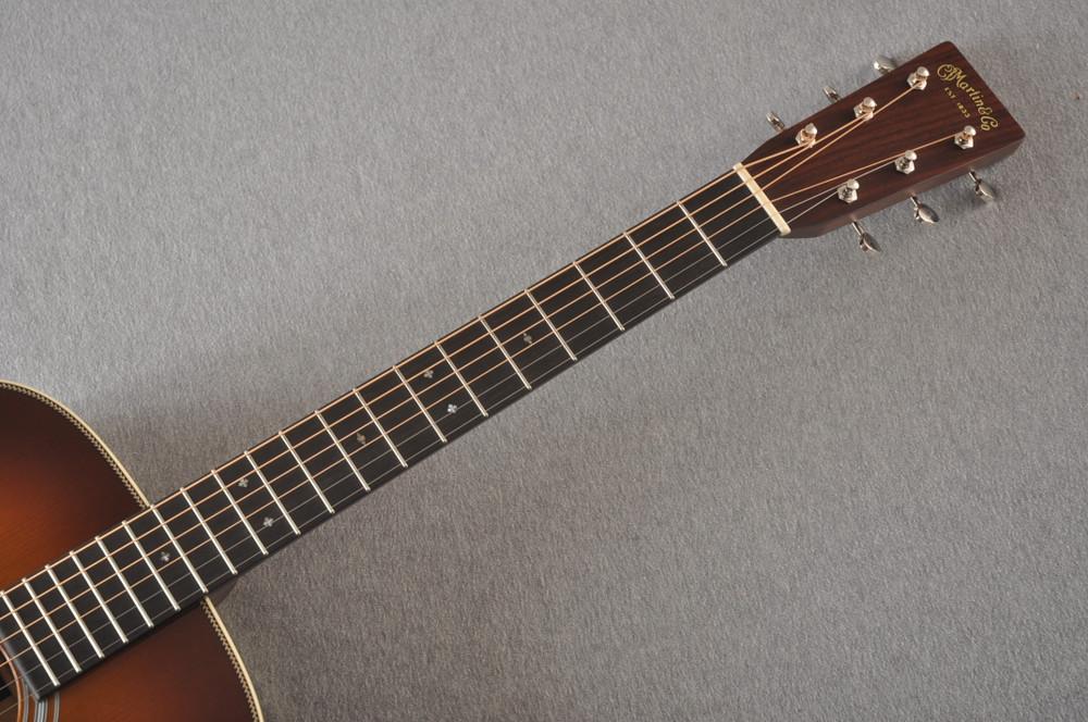 Martin Custom 000 Style 28 Adirondack Ambertone Guitar #2439245 - Neck