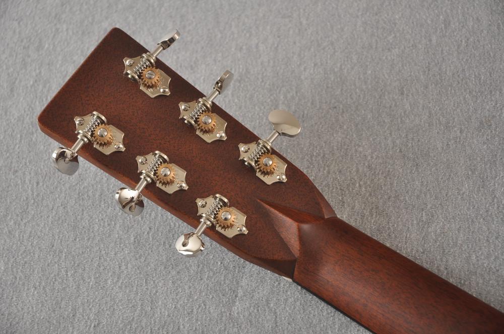 Martin Custom 000 Style 28 Marquis Adirondack GE Scallop #2457201 - Back Headstock