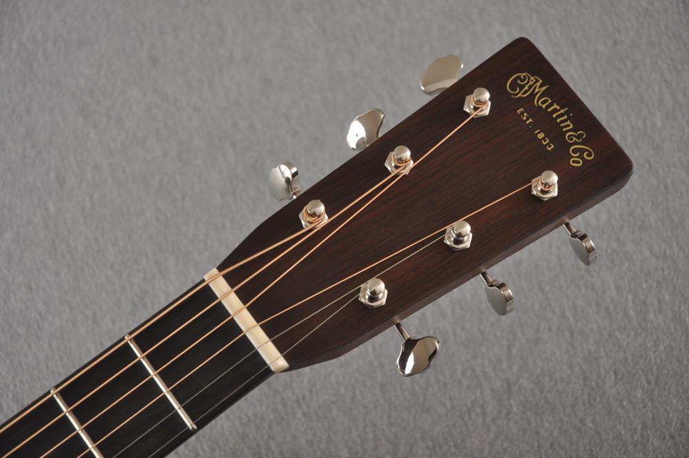 Martin Custom 000 Style 28 Adirondack Guitar #2439246 - Headstock