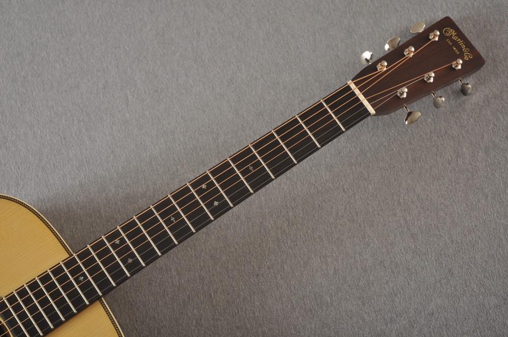 Martin Custom 000 Style 28 Adirondack Guitar #2439246 - Neck
