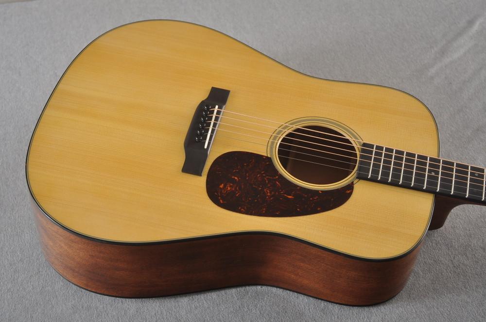 Martin Custom D Style 18 GE Adirondack Sinker Mahogany #2457205 - Top Angle