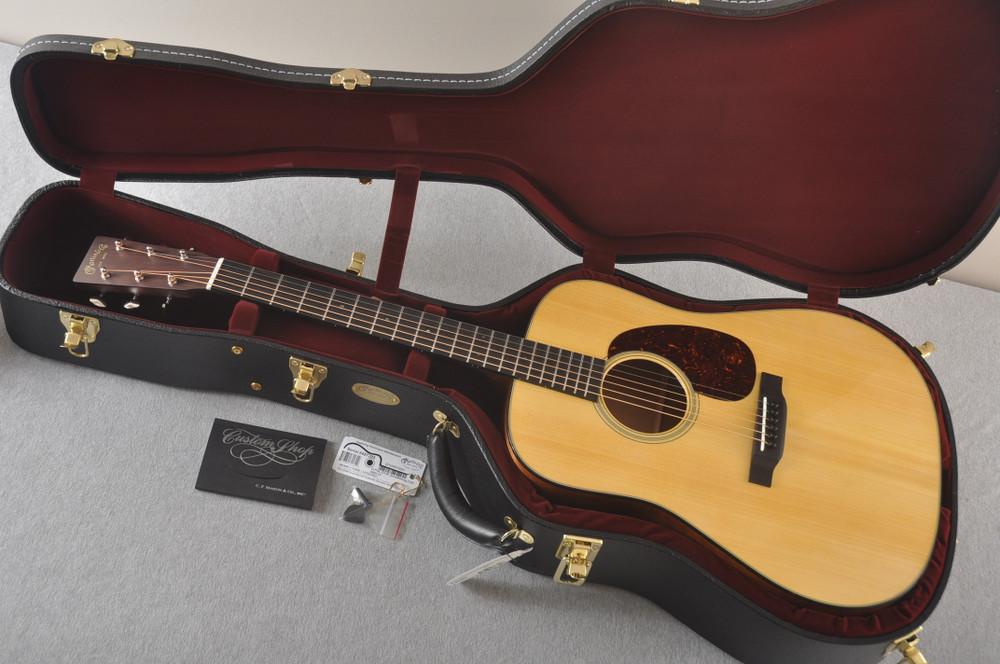 Martin Custom D Style 18 GE Adirondack Sinker Mahogany #2457205 - Case