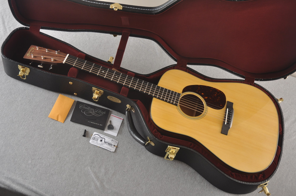Martin Custom D Style 18 GE Adirondack Sinker Mahogany #2441720 - Case