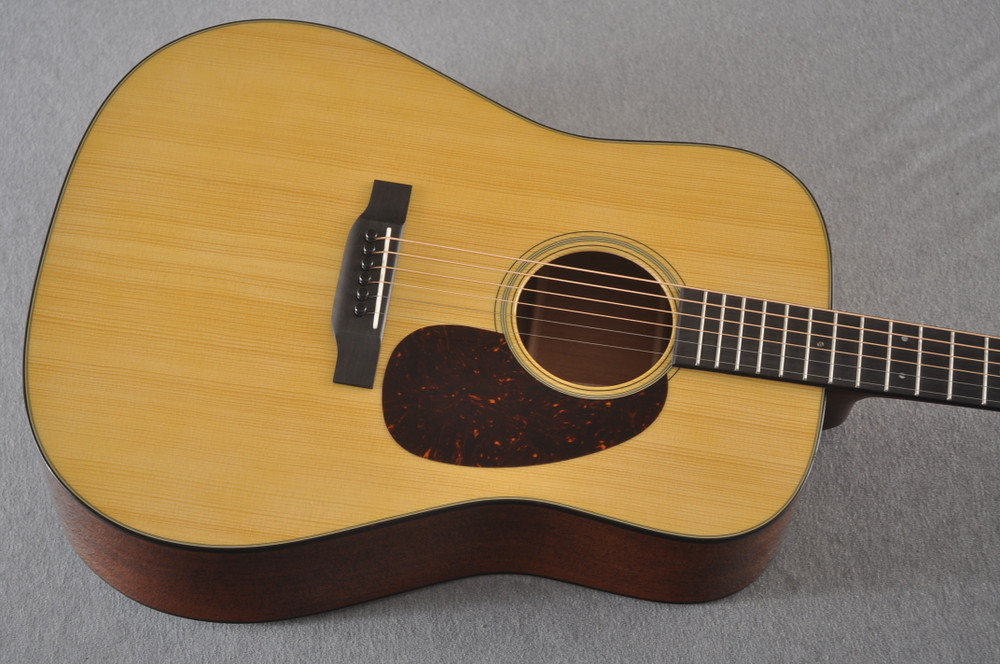 Martin Custom Dreadnought Style 18 GE Adirondack Waverly #2457204 - Top