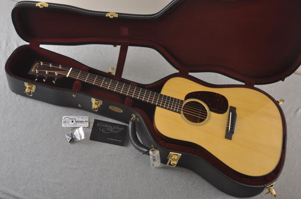 Martin Custom D Style 18 GE Adirondack Sinker 37 Neck #2457203 - Case