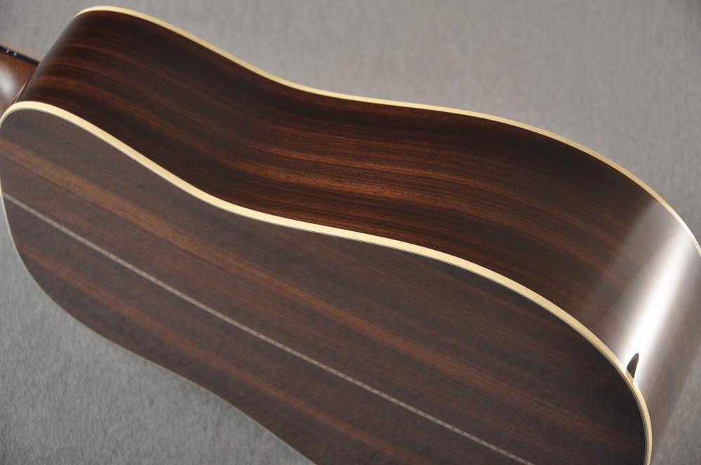 Martin Custom HD Dreadnought 28 Adirondack Ambertone #2441732 - Side