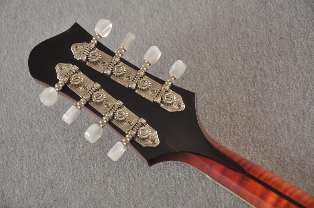Eastman MD805/V Mandolin A Style Solid Adi Top Ebony Board - View 9