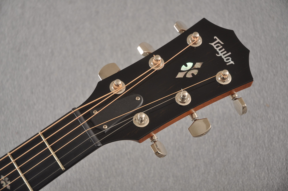 2018 Taylor 714ce Natural V Class #1102278017 - Headstock