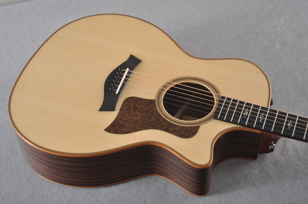 2018 Taylor 714ce Natural V Class #1102278017 - Top Angle
