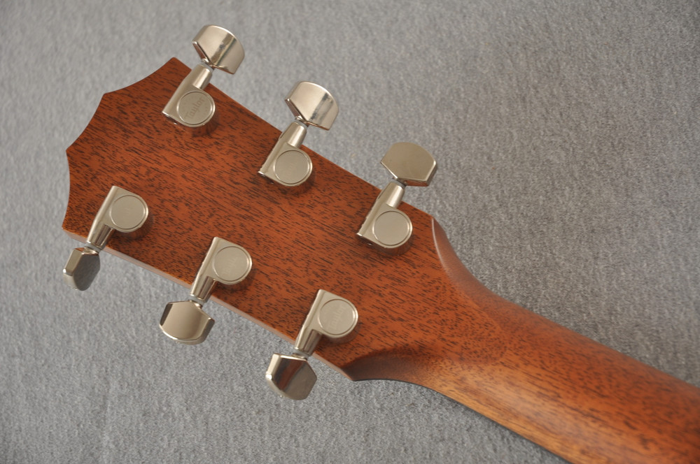 2018 Taylor 714ce Natural V Class #1102278017 - Back Headstock